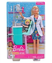 Barbie Dentist Play Set Multicolor - Height 28 cm