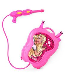 Barbie Water Gun With Backpack Storage Tank - Pink