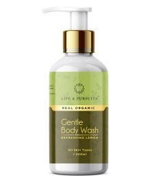 Life Pursuits Gentle Body Wash Refreshing Lemon Green - 200 ml