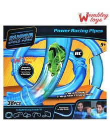 Wembley Toys Gravity Defying Power Racing Pipes With RC Cars - Multicolour