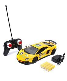 Wembley Toys Racing Bonzer Remote Control Car Series - Yellow