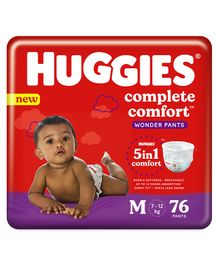 Huggies Wonder Pants Medium Pant Style Diapers - 76 Pieces