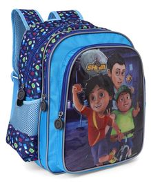 Shiva School Bag Blue - Height 14.1 inches