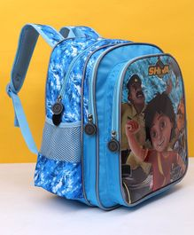 Shiva School Bag Blue - Height 14 inches