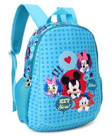 Disney Mickey Mouse & Friends School Bag Blue - Height 12 Inches