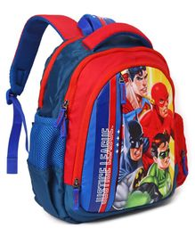 DC Comics Justice League School Bag - Height 14 inches