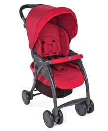 Chicco Simplicity Plus Stroller - Red