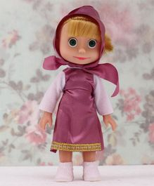 Masha And The Bear Toy Figure Pink - Height 15 cm
