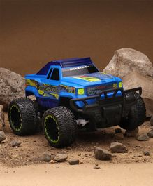 Dickie Toys Dunes Elite Rock Crawler Jeep With Remote Control - Blue