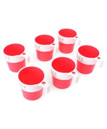 Kids Mug Pink Pack of 6 - 200 ml