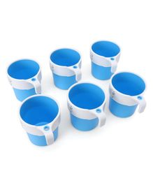 Kids Mug Blue Pack of 6 - 200 ml
