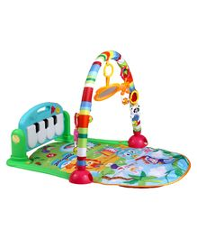 Luvlap Baby Piano Themed Playgym - Blue