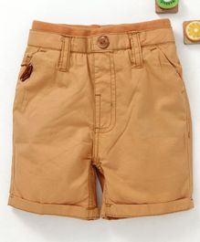Olio Kids Shorts Solid - Khaki