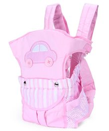 3 Way Baby Carrier Car Patch - Light Pink