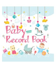 Baby Record Book - English