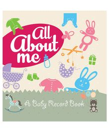 All About Me A Baby Record Book - English