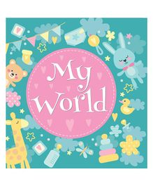 My World Baby Record Book - English