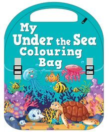 My Under The Sea Colouring Bag Shaped Book - English