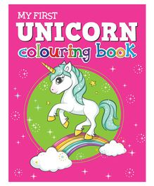 My First Unicorn Colouring Book - English