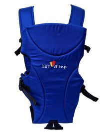 1st Step Adjustable 3 Way Baby Carrier With Comfortable Grip And Breathable Fabric - Blue