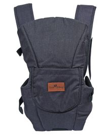 1st Step 3 Way Carrier With Adjustable Padded Straps & Side Openings Attachable Hood And Storage Pocket - Light Grey