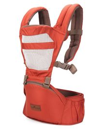 1st Step 6 In 1 Baby Carrier With Superior Lumbar Support And Detachable Hip Seat- Orange