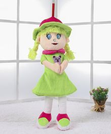 Benny & Bunny Candy Doll Green - Height 54 cm (Applique Design May Vary)