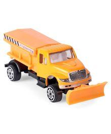 Diecast Metal Tanker Construction Vehicle Toy - Yellow