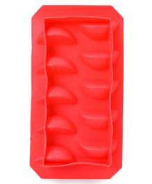 Orange Shape Ice Cube Tray - Pink
