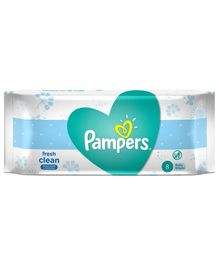 Pampers Fresh Clean Baby Wipes - 8 Pieces