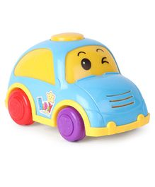 Friction Powered Plastic Car Toy - Blue