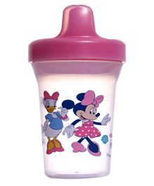 Disney Mickey Mouse Sippy Cup Pink - 210 ml