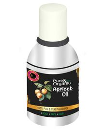 Avnii Organic's Pure & Organic Apricot Oil For Anti Ageing Hair Care Rich in Vitamin E, 25 ML