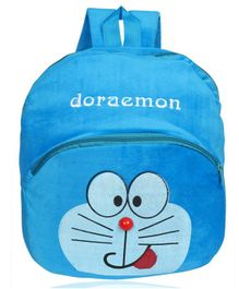 O Teddy Plush Doraemon Soft Toy Bag Blue - 14 Inches