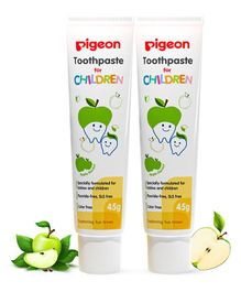 Pigeon Children Toothpaste Apple Pack Of 2 - 45 gm
