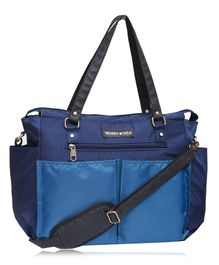 Bohomia Classic Multi-Pocket Diaper Bag Extra Large - Blue