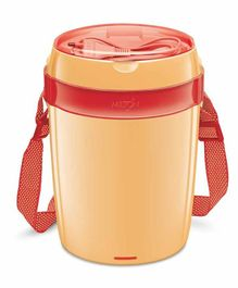 Milton Futron Electric Lunch Pack With 4 Containers 360 ml - Orange
