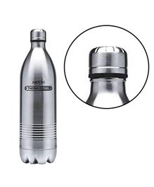 Milton Thermosteel Duo Dlx Insulated Hot & Cold Bottle Silver - 1500 ml