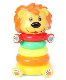 Lion Ring Stacking Toy - Multicolor