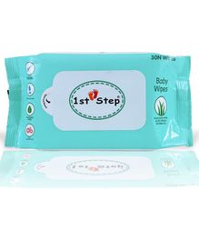 1st Step Refreshing Wet Wipes Enriched With Aloe-Vera And Jojoba Oil-30 Pieces