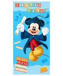 Sassoon Disney Mickey Mouse Printed Bath Towel - Blue