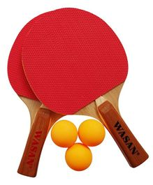 Wasan Table Tennis Set - Red