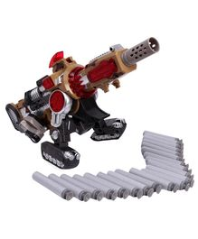 Bang Battle Blaster Gun Toy - Golden Red