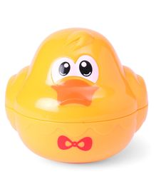 Duck Shape Baby Bath Toy - Orange