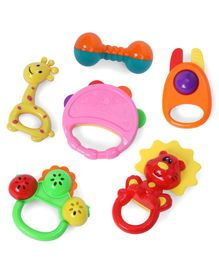 Baby Rattle Toys Pack of 6 - Colour May Vary