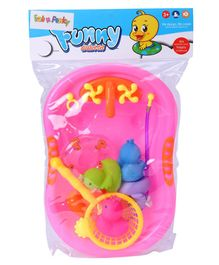 Baby Bath Toy Set of 8 - Pink