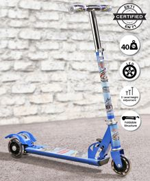 Babyhug Buddy 3 Wheel Scooter - Blue