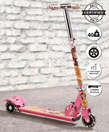 Babyhug Buddy 3 Wheel Scooter - Pink
