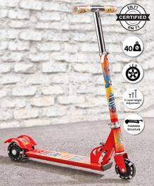Babyhug Buddy 3 Wheel Scooter - Red