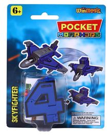 Pocket Morphers Skyfighter Toy - Blue